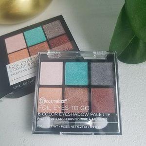 NIB BH Cosmetics Foil Eyes to Go Eyeshadow Palette